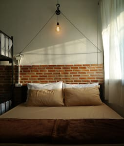 IF YOU WANT HOSTEL : DOUBLE BED + BUNK BED ROOM - Penzion (B&B)
