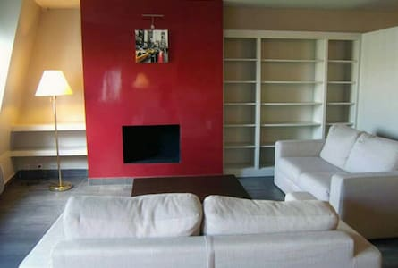 Cosy 2-Sofas livingroom @Pompidou