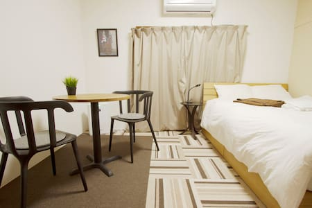 Best bed in functional room, 4 min to Shimokitaza - Wohnung