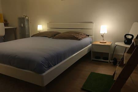 Appart chaleureux et vintage Dijon - Apartment