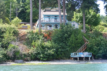 Nature's Paradise on Hood Canal Waterfront slp 12 - Haus