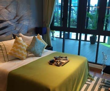 Pool in Room-1min MRT, 15 mins city - Wohnung