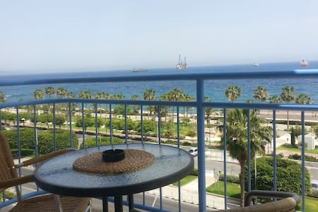 Sea Front & City Center, Amazing Sea Panorama ! - Limassol - Apartment