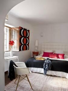 Bedroom En suite bedroom  with AC 1 - Ibiza