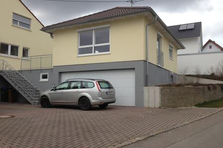 Modernes, helles Haus mit Garage - Horb am Neckar - House