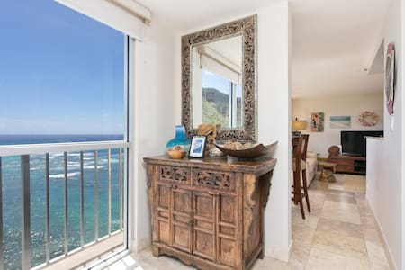 Well Appointed Penthouse Private Ocean Lanai 1401 - Honolulu