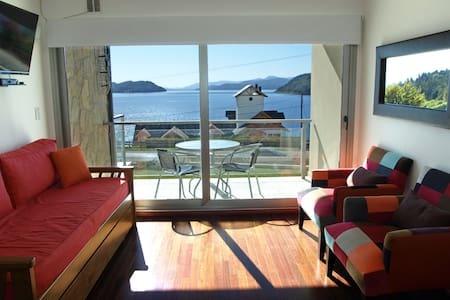 Luxury beach front apartment with pool! - San Carlos de Bariloche - Apartment