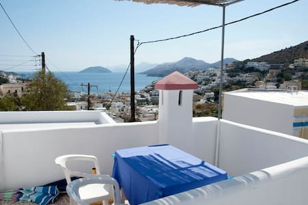 Greek island house for rent  - Leros - 단독주택