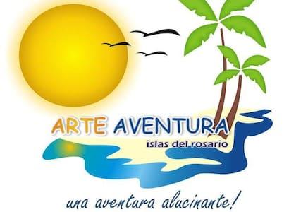 Arte Aventura Cabañas Independientes - Isla Grande - Cabin