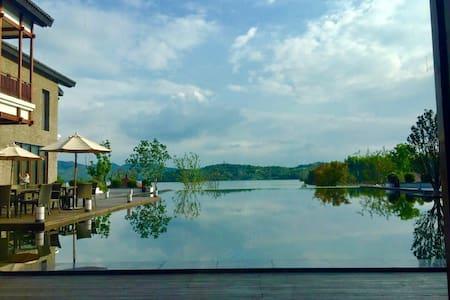 距离天目湖景区300米  享别墅风情 - Apartament