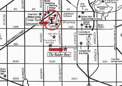 The Raider Rose - Haus