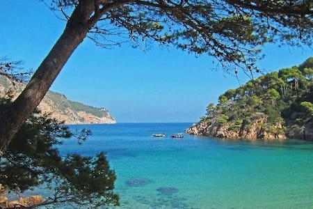 Appartment with swimming pool, near to the beach - Palafrugell - Appartement