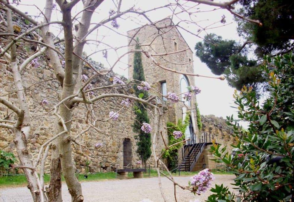 L' esterno della Torre