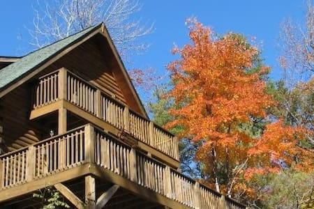 Secluded Cabin beside state park - Chalet