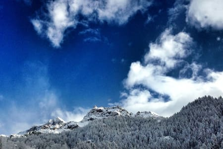 Valtournenche: three views on Mountains flat - Lägenhet
