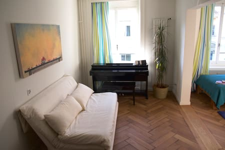 ° Room in Zurichs trendy Area ° Centrally Located - Zürich - Apartment