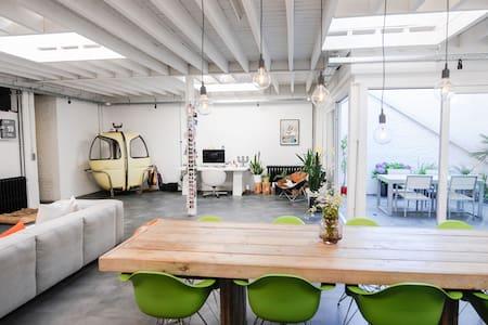 Sunny loft near city centre in a green environment - Lovanio - Appartamento