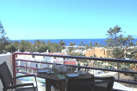New studio in Las Americas with seeview near beach - Appartement