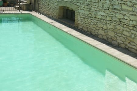 large farmhouse with pool, near Avignon - Dom