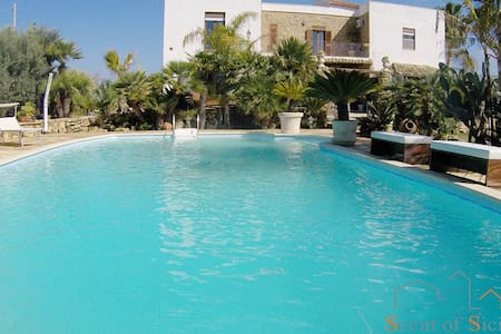 Old farmhouse with pool - Agrigento