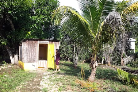 Small cabanas with shared bathroom - Sarteneja - Cabanya
