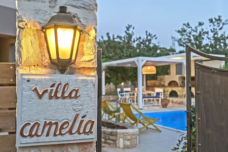 Villa Camellia Rethymno Holidays By the Pool !!! - Atsipopoulo