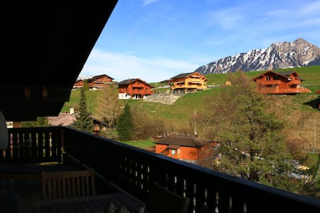 chambre dans appartement 6,5 pces - Leysin - Wohnung
