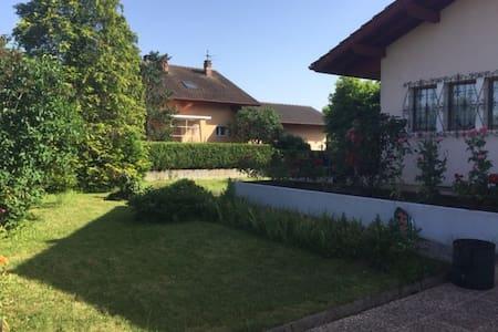 Maison proche lac et Genève - Appartement