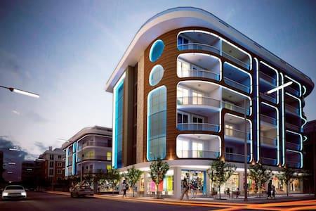 The best place in Alanya,250 m Cleopatra beach - Alanya - Apartamento