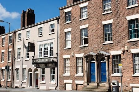 Charming Georgian Apartment Liverpool City Centre - Apartmen