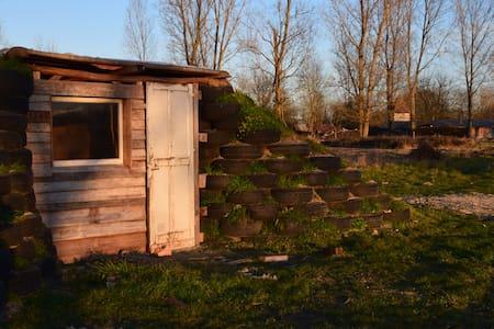 Hobbit house on a community farm - Earth House