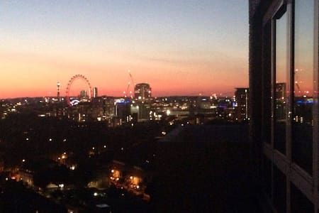 Central double room with beautiful views! - London - Apartment