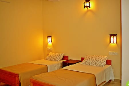 Private Double or Twin room at Thekkady homestay - Szoba reggelivel