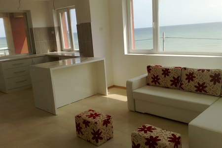 High-Luxury huge double apartment on the beach - Apartemen