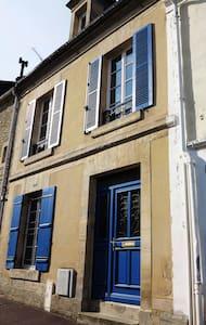 Courseulles, chambre avec cour - Courseulles-sur-Mer