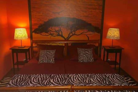 """Zimmer  """"Afrika"""" Pension Bleinroth Waldkirchen - Bed & Breakfast"""