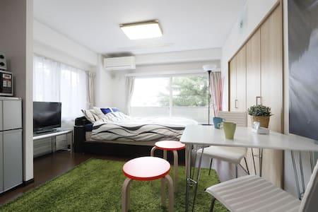 RENOVATED STUDIO Bright,Cozy room / Shinjuku 10min - Wohnung
