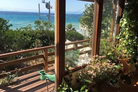 bigger room of 2bed rooms in a Beach house@hayama - House