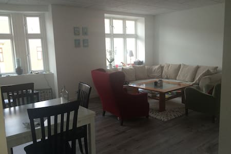 Large bright apartment in the city centre - Odense - Apartment