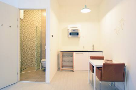Comfortable, clean and new studio close to NDSM! - Amsterdam - Loft
