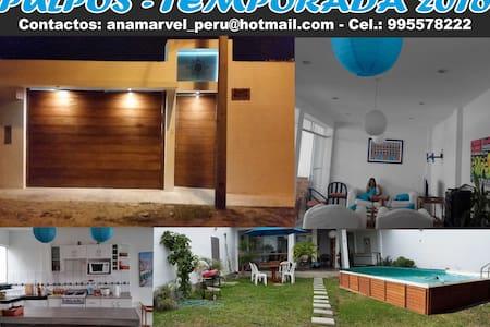 Casa de Playa Pulpos - Ev