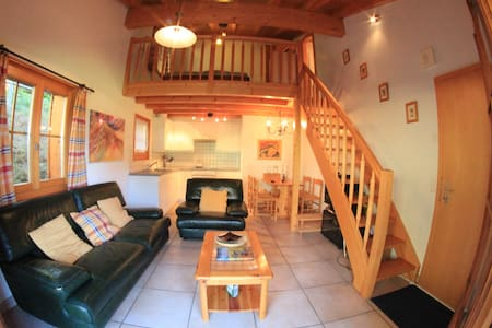 Lovely Studio with loft bed Verbier - Bagnes - Apartment