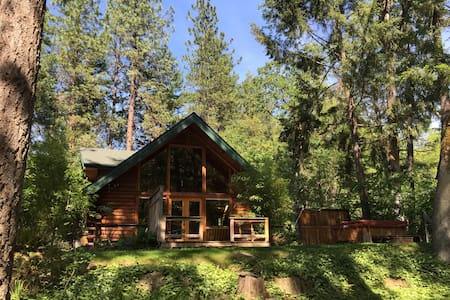 Thompson Creek Cabin with HOT TUB!!! - Chalet