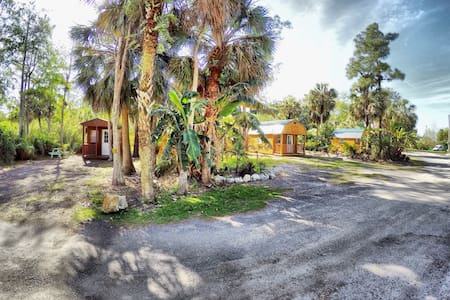 Tiny Cabin in the Everglades - Ochopee - Sommerhus/hytte