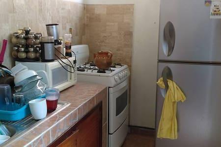 Habitación en casa pequeña, cómoda y céntrica - Santiago de Querétaro - Apartment