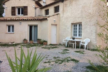 Apt 70 m² dans Villa avec jardin près de Cannes - La Roquette-sur-Siagne - Flat