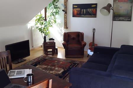 Gemütliche Dachgeschosswohnung im 3.OG - Braunschweig - Apartment