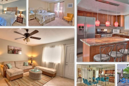Getaway!Beach 3 min walk!Free Wi-Fi - Panama City Beach - Townhouse