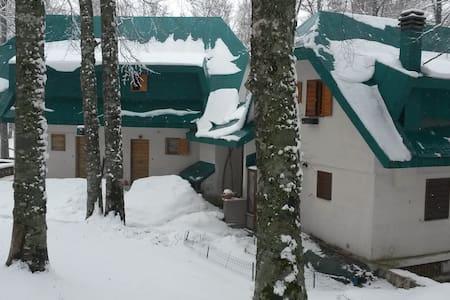 Casa di montagna al Terminillo - Pian De' Valli - Rumah