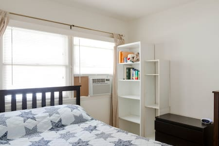 Temple City - Kauffman w/ Full Size Bed + AC - House